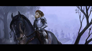 In shining armor by Brissinge