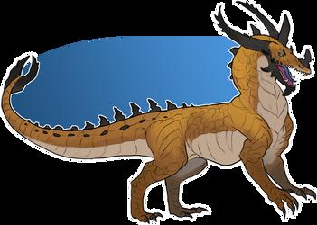 *SOLD* sand dragon by Brissinge