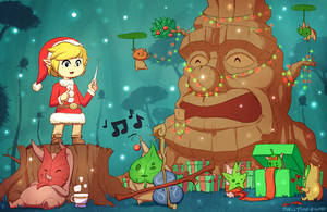 A Wind Waker Christmas by Skellytune