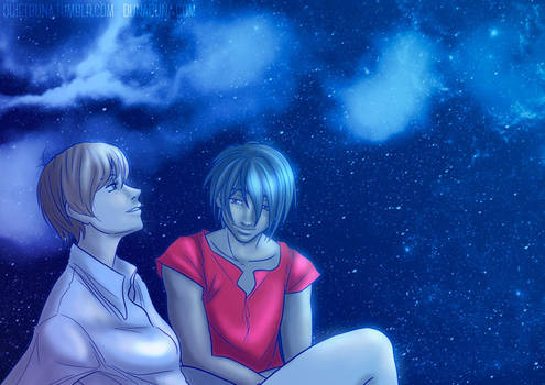 Starry night 2.0 by QuietDuna
