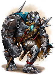 Warforged Sorcerer by D-MAC