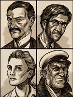 Cthulhu Investigators by D-MAC
