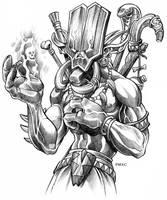 WoW Troll Shadowhunter by D-MAC