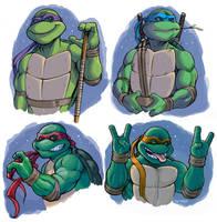 Teenage Mutant Ninja Turtles by D-MAC