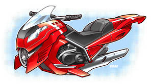 Hoverbike by D-MAC