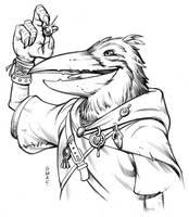 Kenku Rogue by D-MAC