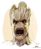 He is Groot by D-MAC