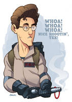 Egon Spengler by D-MAC