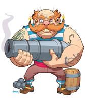 Pirate Gunner by D-MAC