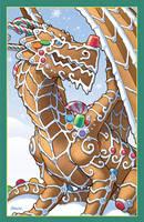 Gingerbread Dragon by D-MAC