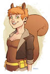 The Unbeatable Squirrel Girl by D-MAC