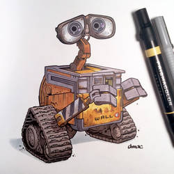 WALL-E by D-MAC
