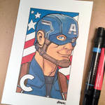 C is for Captain America by D-MAC