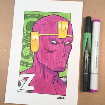 Z is for Zemo by D-MAC