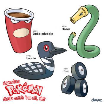 Canadian Pokemon by D-MAC