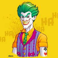 Joker - The Lego Batman Movie by D-MAC