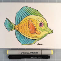 March of Robots Day 22: Tropical Fish by D-MAC