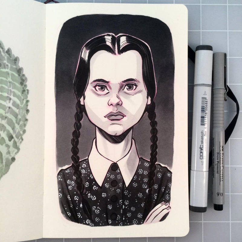 Wednesday Addams by D-MAC
