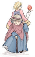 Grandma Sophie, Horrible Howl by nolleny