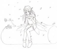 Prize:  glaciesClOvEr  (WIP sketch) by TsukiHina