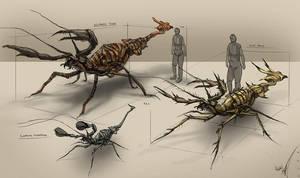 creature designs by Kiabugboy
