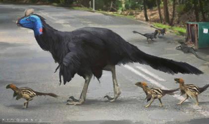 modern raptors by Kiabugboy