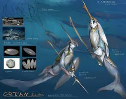 Beneath The Wave - Cetan raiders by Kiabugboy