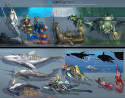 Beneath The Waves- Line Up Final Final by Kiabugboy