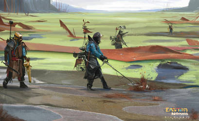 Eastern Nomads  by Kiabugboy