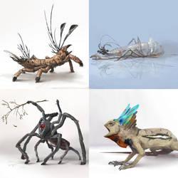 October Creature Compendium1 by Kiabugboy