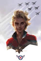 Carol Danvers by merkymerx
