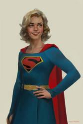 Supergirl by merkymerx