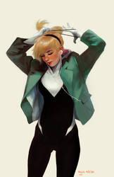 Gwen Stacy: Ponytail by merkymerx
