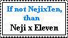 Neji x Tenten Stamp by 80avatarfan80