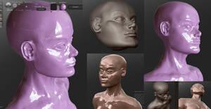 Sculptris head by Antihelios