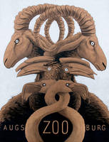 Zoo Poster by Antihelios