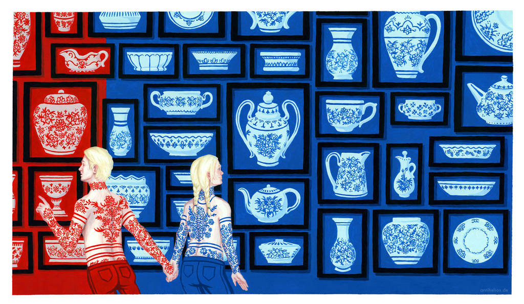 Porcelain Lovers: Same but different by Antihelios
