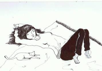 lie down by cirqueclown