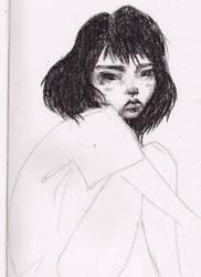 Charcoal Girl by cirqueclown