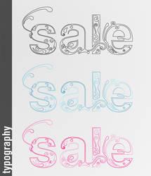 Typography - Sale by phreezer