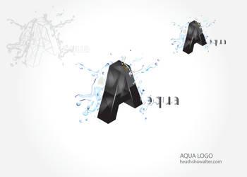 Aqua Logo by phreezer