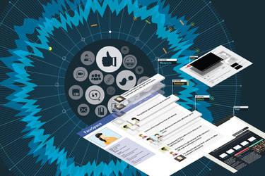 Social Media Big Data by phreezer
