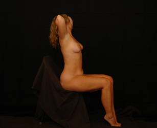 Seated Pose 2 by torino-stock