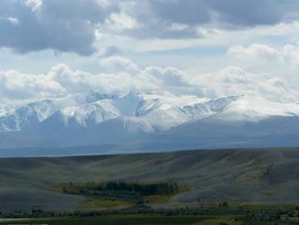 Altai Republic. Kurai steppe. by Jenkeju