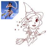 Witch-girl by Jenkeju