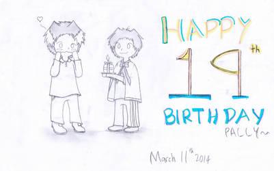 Birthday Splash: Kenny by dandynood