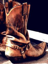 A Cowboy's life by bubblespot