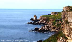 bulgarian shore by azzazell
