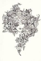 Floral Queen by jujubemita