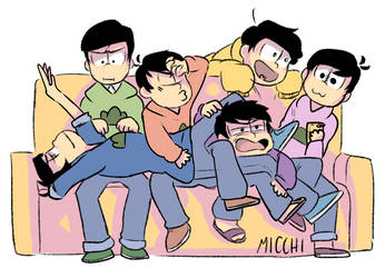 DRAW THE SQUAD - OSOMATSU-SAN by Micchi-Draws